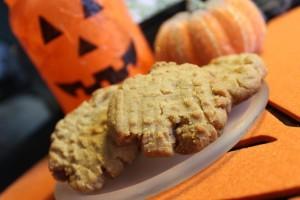 Pumpkin Spiced Peanut Butter Cookies