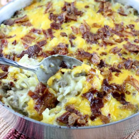 Fully Loaded Hash Brown Casserole