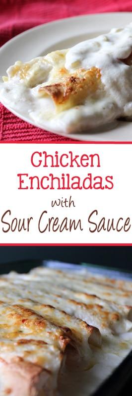 chickenenchiladaswithsourcreamsauce