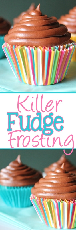 killer fudge frosting long pin
