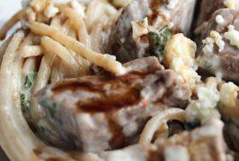 Steak Gorgonzola Alfredo - Olive Garden's Copycat