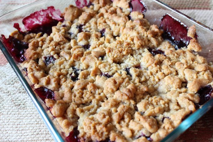 Blueberry Apple Crumble - Everyday Made Fresh