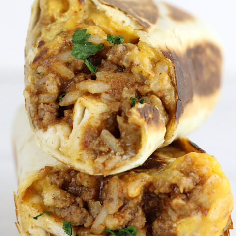 Grilled Stuffed Burritos