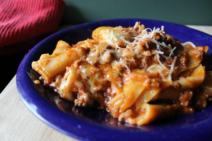 Skillet Lasagna | EverydayMadeFresh.com