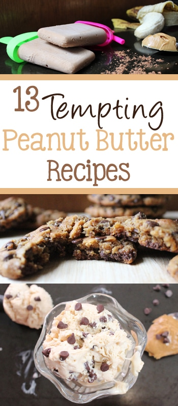 13 Tempting Peanut Butter Recipes