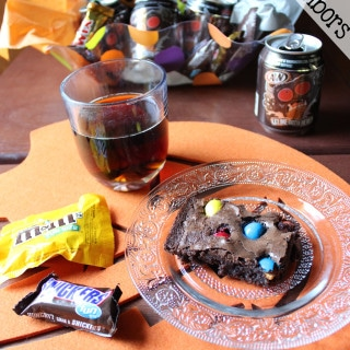 Trick-Or-Treat Brownies and How To BOO Your Neighbors