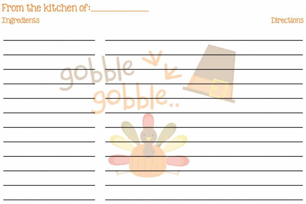 Thanksgiving 4X6