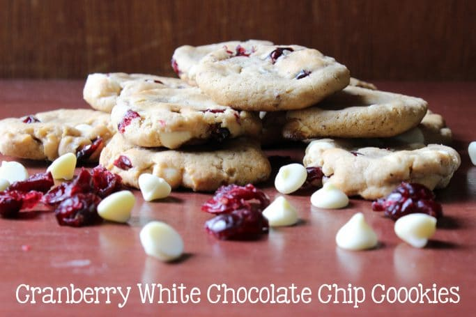 Cranberry White Chocolate Chip Cookies - Everyday Made Fresh