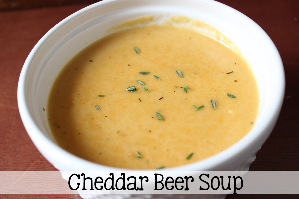 Cheddar Beer Soup