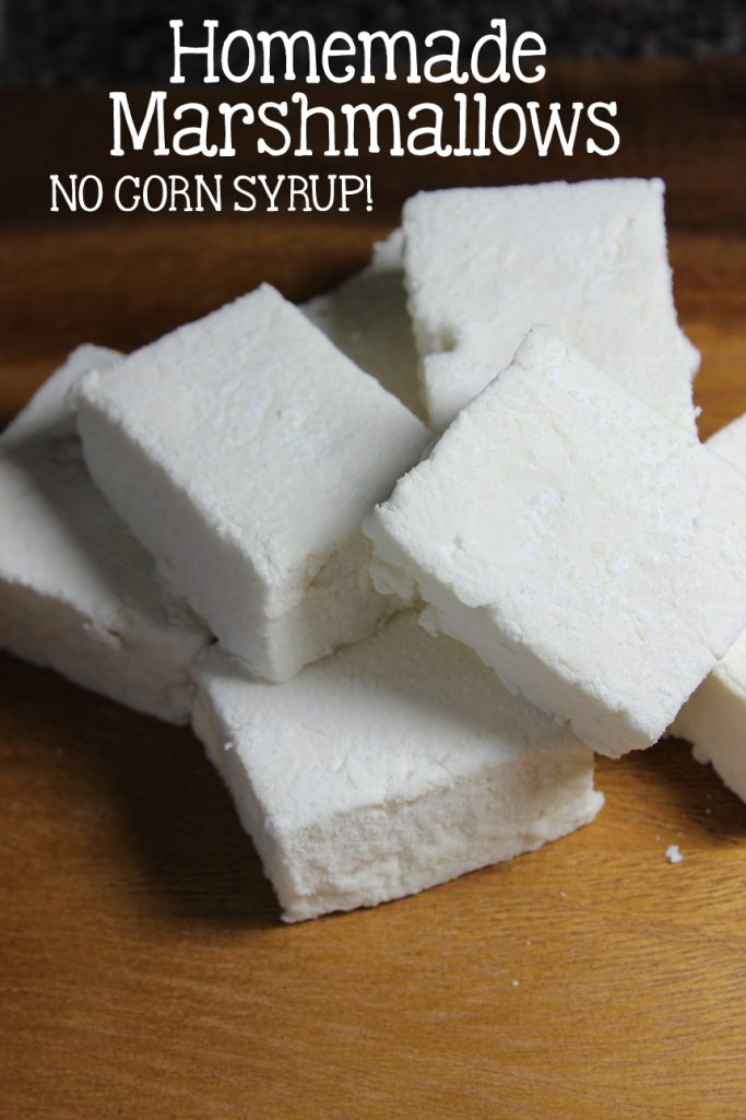 Homemade Marshmallows without Corn Syrup!   EverydayMadeFresh.com