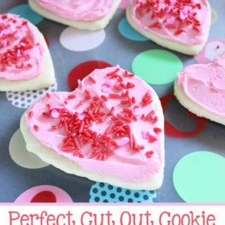 Perfect Cut Out Cookie Buttercream Frosting