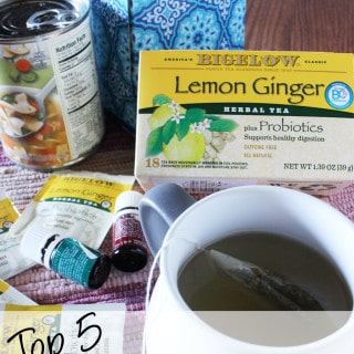 Top 5 Must Have Comforts for Cold/Flu Season