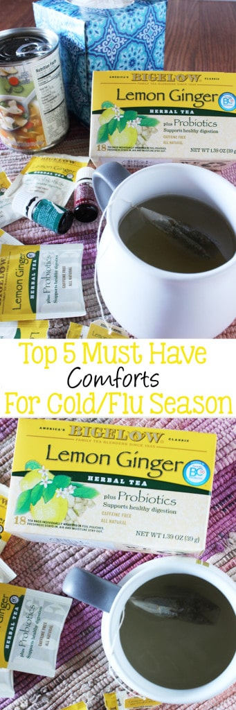 Top-5-Must-Have-Comforts-for-Cold-Flu-Season #MeAndMyTea #ad
