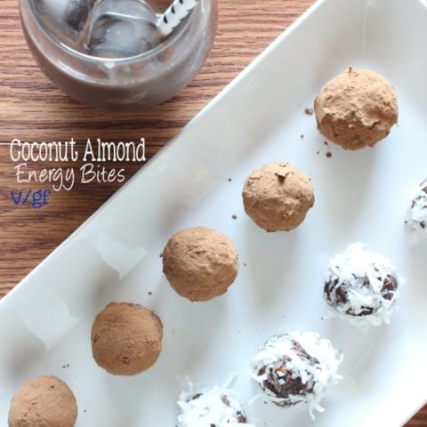 Coconut Almond Energy Bites (V/GF)