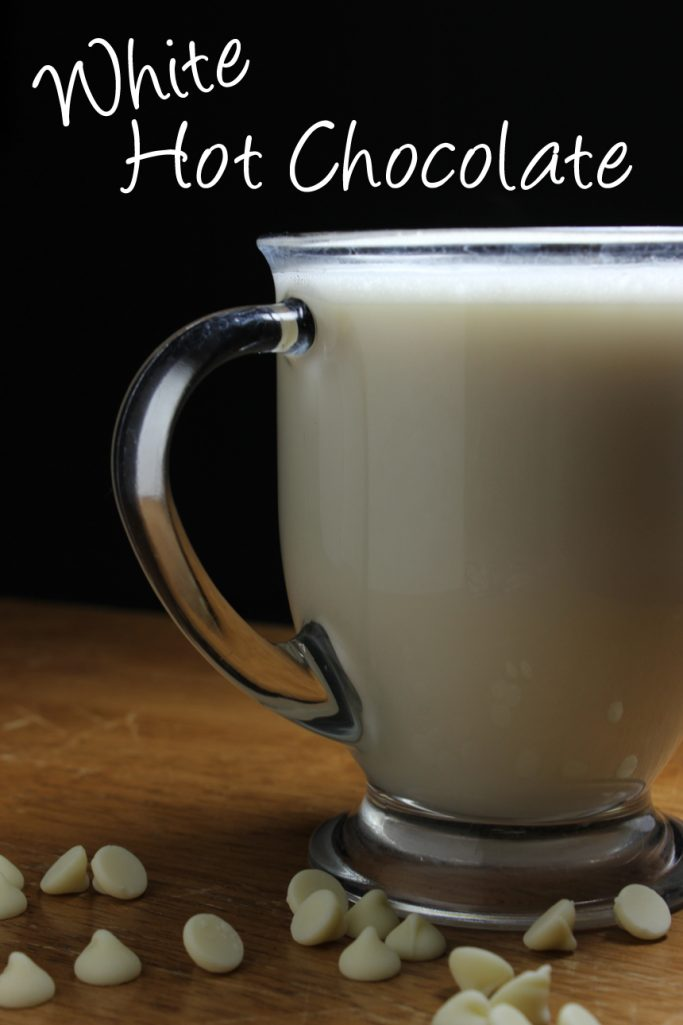 White Hot Chocolate | EverydayMadeFresh.com