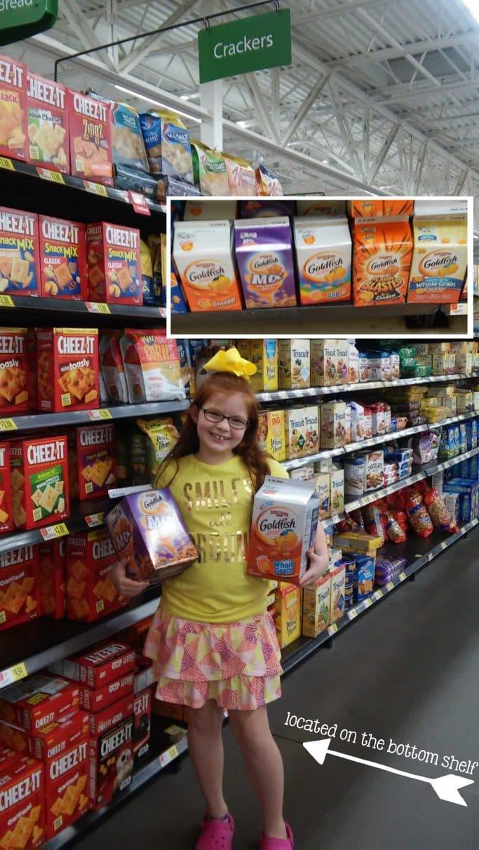 2 Simply Seasoned Goldfish® Cracker Party Mixes, Keep Kids in the Mix™ #GoldfishMix #Walmart #ad