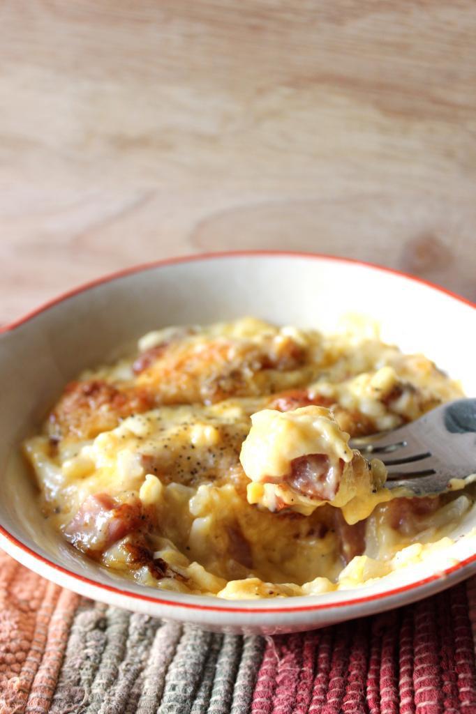 Scalloped Ham and Potato Casserole | EverydayMadeFresh.com