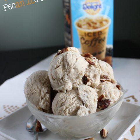 Caramel Macchiato Pecan Ice Cream