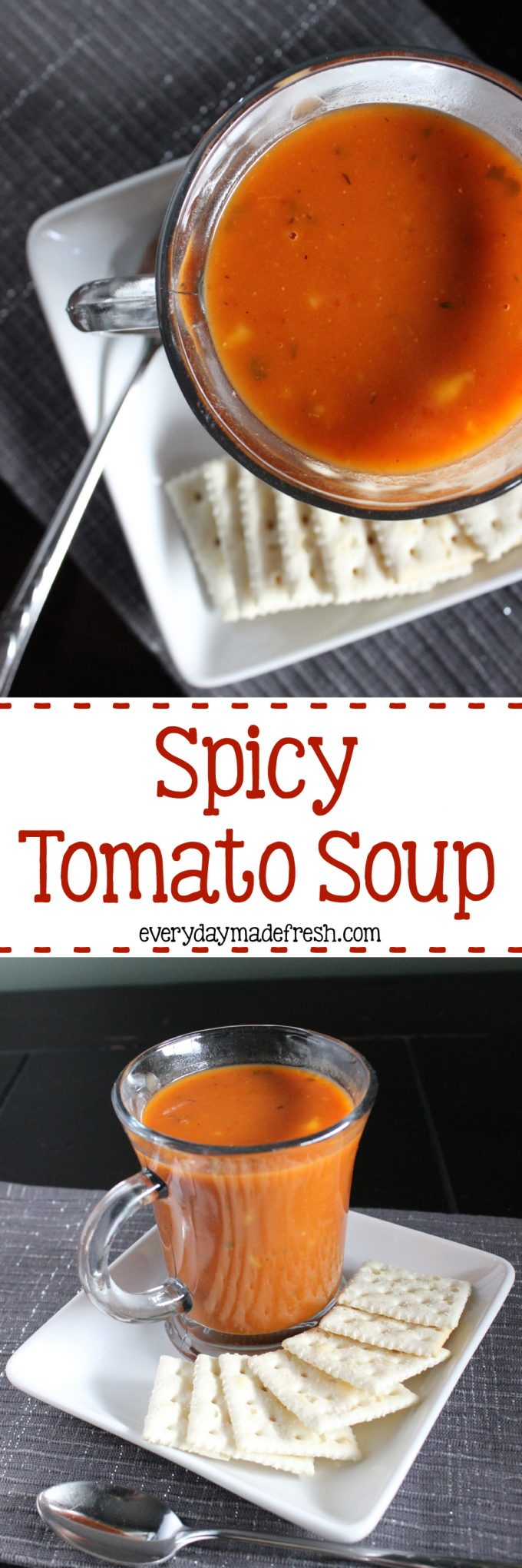 Spicy Tomato Soup - Everyday Made Fresh