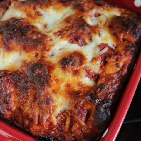 Simple Pizza Casserole
