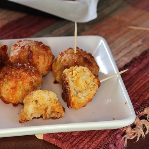 Spicy Chicken Cheeseballs
