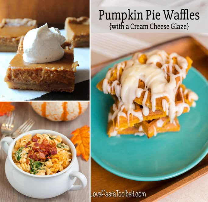 A round-up of 18 of the Best Pumpkin Recipes, including sweet and savory! Recipes for all the pumpkin fans out there. | EverydayMadeFresh.com