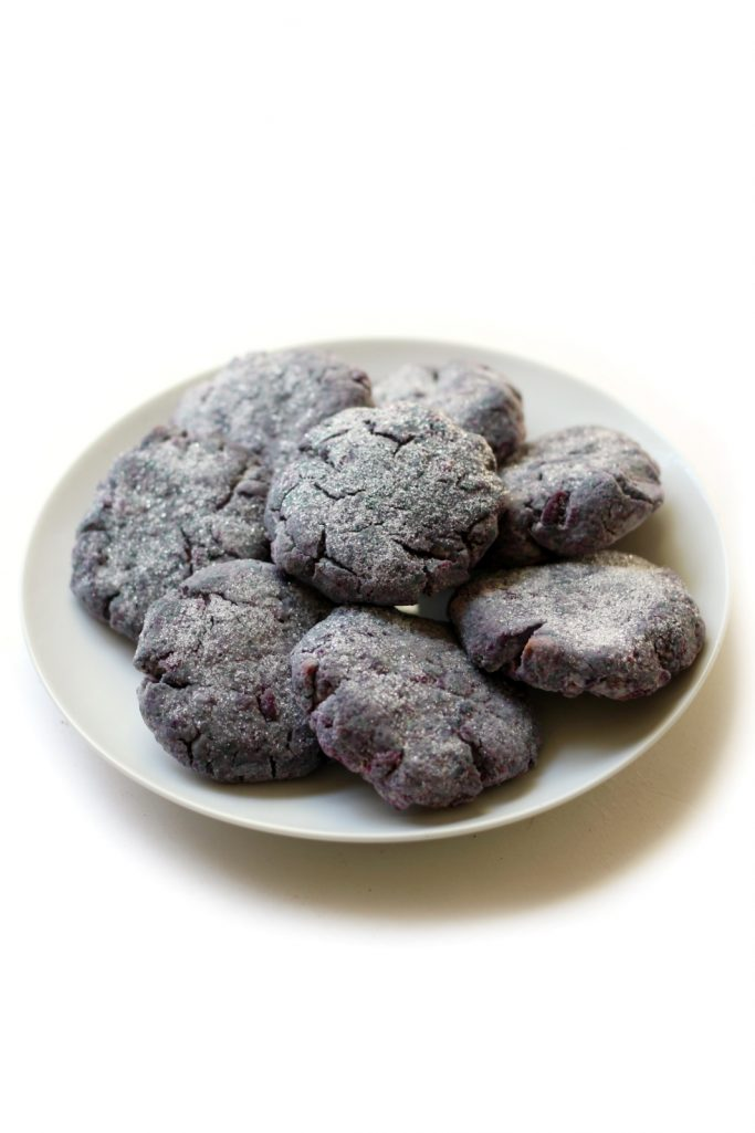 Purple Sweet Potato Sugar Cookies | StrengthandSunshine.com