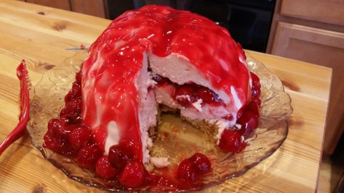 Walking Dead Brain Cheesecake | SustainingthePowers.com