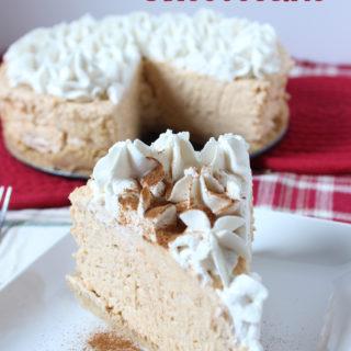No Bake Sweet Potato Cheesecake