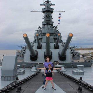 Located in Mobile Alabama, you will find USS Alabama Battleship Memorial Park. It's a must-see when you are in the area! | EverydayMadeFresh.com