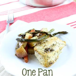 One Pan Spicy Ranch Chicken & Veggies