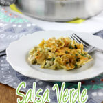 Salsa Verde doesn't get enough time in the spotlight. However, with this Salsa Verde Chicken and Rice Casserole it's the star of the dish! | EverydayMadeFresh.com