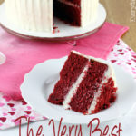 The only red velvet cake recipe you'll ever need is here! This is The Very Best Red Velvet Cake. It's perfectly moist, decadent, and so simple to make. | EverydayMadeFresh.com
