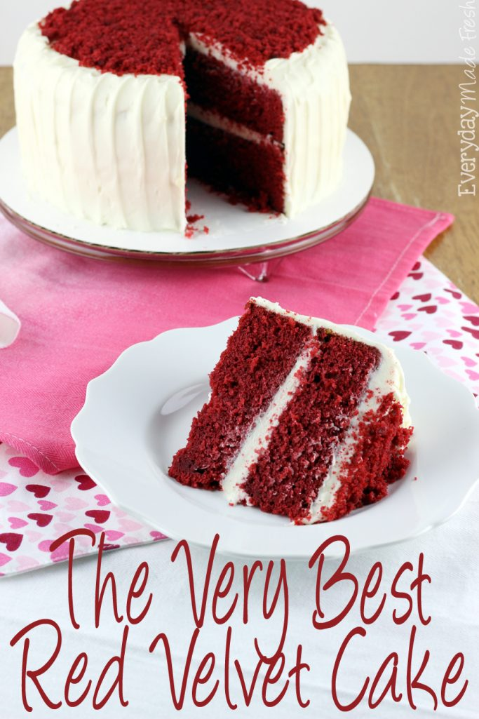 How To Make Red Velvet Cake With Cake Flour