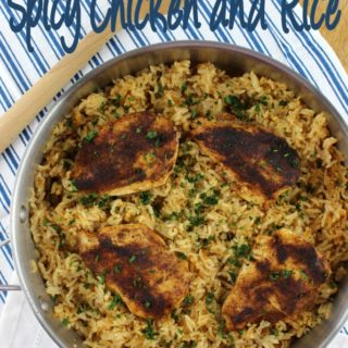 One Pot Spicy Chicken and Rice