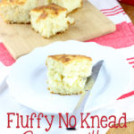 Achieve perfect biscuits every time with this recipe for Fluffy No Knead Buttermilk Biscuits. | EverydayMadeFresh.com