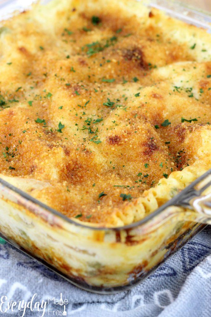 Garlic Chicken Lasagna - Everyday Made Fresh