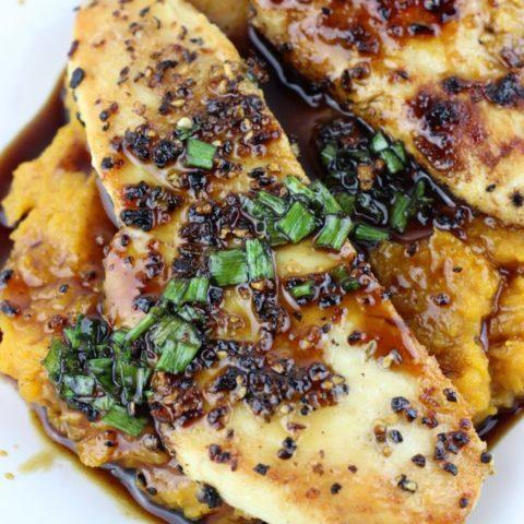 Maple Glazed Chicken with Butternut Squash