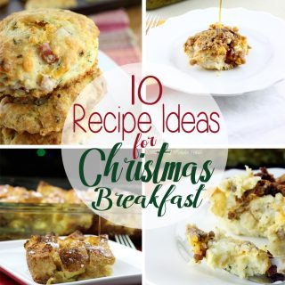 Santa is on his way and the last thing you need to worry about is a holiday breakfast. Here are 10 Recipe Ideas for Christmas Breakfast that are family pleasing and can be made the night before, or little to no time in the morning.   EverydayMadeFresh.com