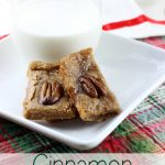 These Cinnamon Cookie Squares are as simple as they get! You are only 6 ingredients and 15 minutes away from one of these perfect squares. | EverydayMadeFresh.com