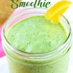 Looking for that perfect green smoothie that tastes amazing? This Green Citrus Smoothie is smooth, creamy, and tastes fantastic! The perfect way to start the day or enjoy for a healthy snack.   EverydayMadeFresh.com