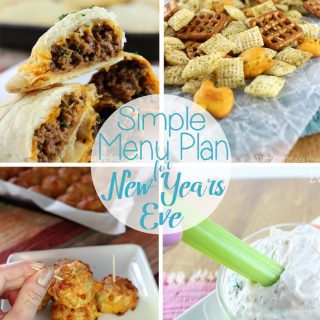 The last night of the year, and I'm not about to spend hours in the kitchen! This is why I have a Simple Menu Plan for New Years Eve. 10 tasty snack type foods, where most don't even require an oven. | EverydayMadeFresh.com