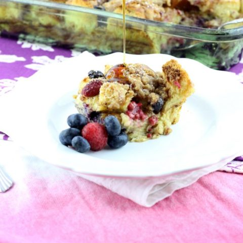 Very Berry French Toast Casserole