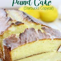 Iced Lemon Pound Cake (Starbucks Copycat)