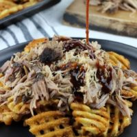 Pork & Waffles (Fries)