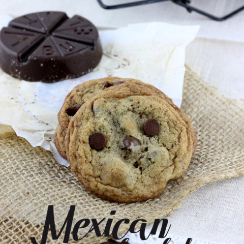 Mexican Chocolate Chocolate Chip Cookies