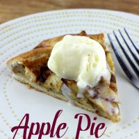 Apple Pie Galette