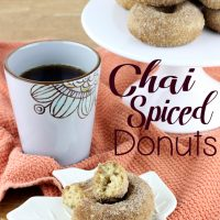 Chai Spiced Donuts