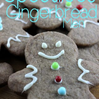 We could eat cookie butter with a spoon from the jar, and when I thought about making the actual cookies that create that famous stuff from Trader Joe's, I knew that I had to make Speculoos Gingerbread Men! | EverydayMadeFresh.com