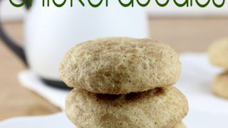 Egg Nog Snickerdoodles